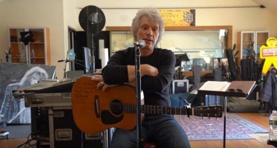 Jon Bon Jovi compone con sus fans una canción sobre el coronavirus