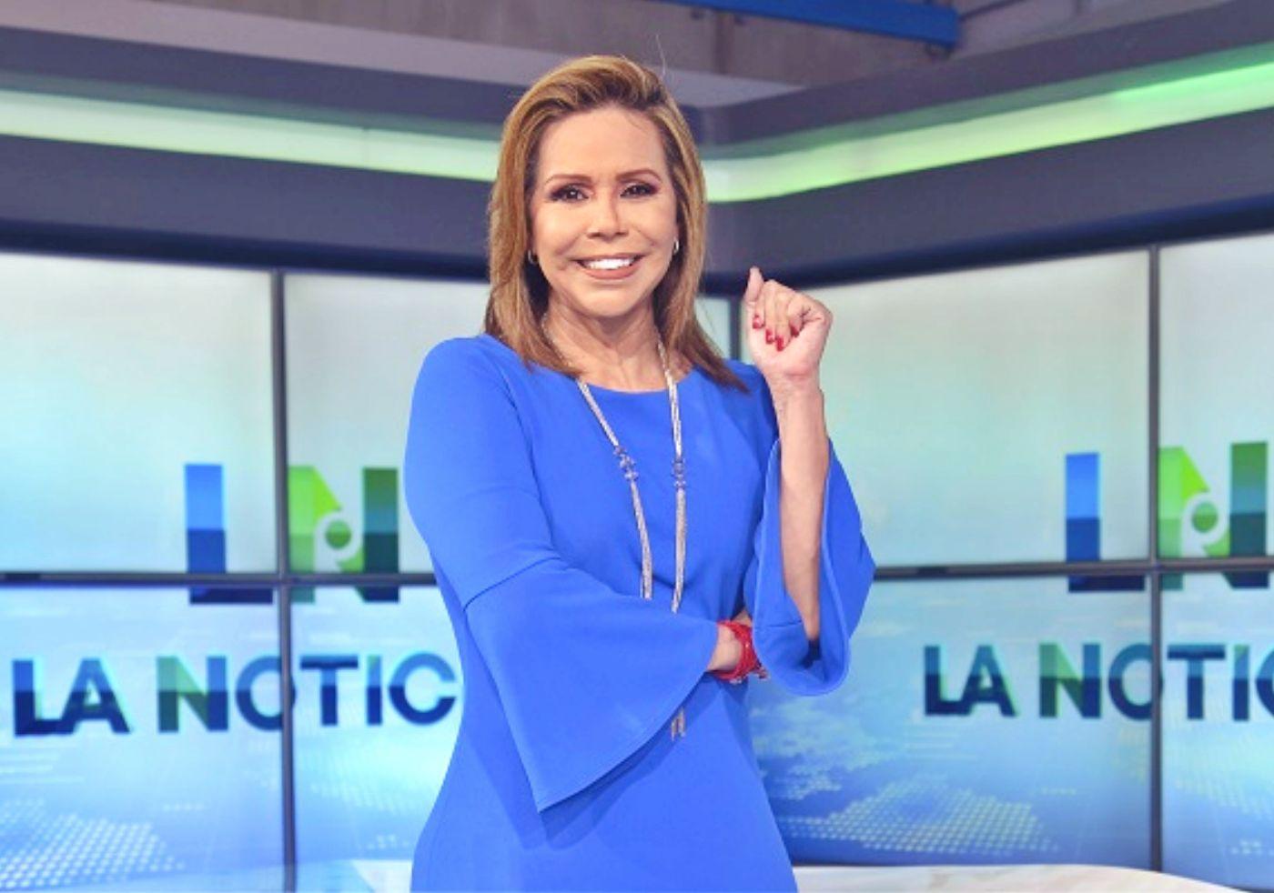 La periodista de RTS, Luisa Delgadillo, positivo para COVID-19