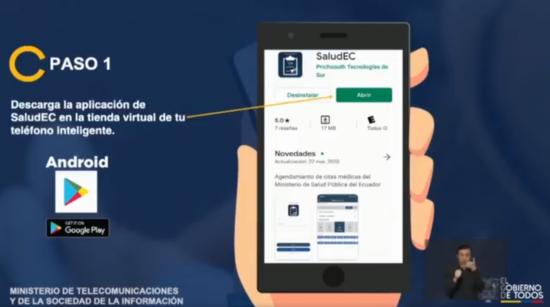 Habilitan en Ecuador una App para evaluar los síntomas del coronavirus