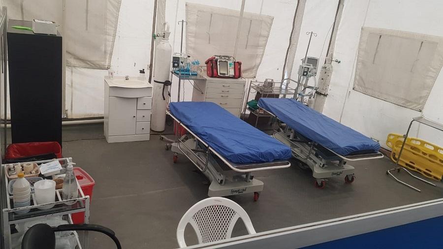Vicepresidente desmiente que hospital móvil de Pedernales sea trasladado a Guayaquil