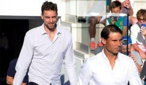 Nadal y Gasol unen al deporte español para recaudar 11 millones de euros