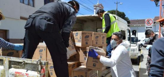 Ecuador lanza campaña para ayudar a los más vulnerables ante el COVID-19