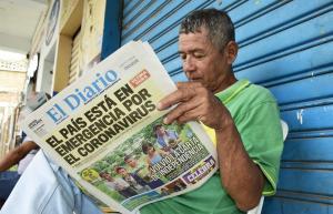Los medios no se han detenido por la crisis a causa del coronavirus