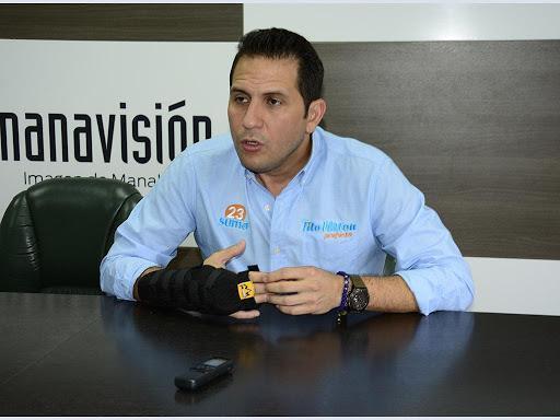 El gobernador de Manabí Tito Nilton Mendoza dio positivo para coronavirus