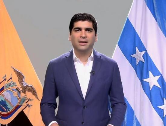 Vicepresidente de Ecuador dice que las cifras de contagiados por coronavirus es alarmante