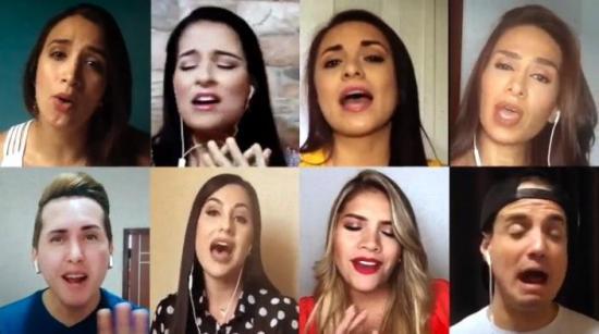 [VÍDEO]Cantantes portovejenses se unen en el tema ''Puedes contar conmigo''