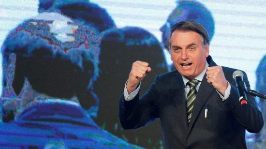 Bolsonaro se pasea por Brasilia en contra de las recomendaciones sanitarias
