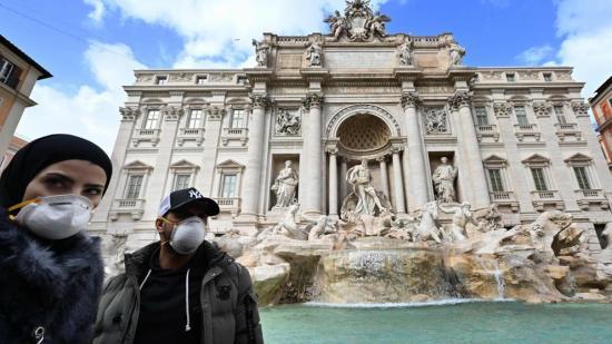 Casi 5.000 denuncias por incumplimiento de cuarentena en Italia desde el 11 de marzo