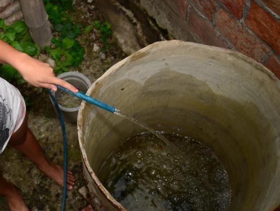 Anuncian escasez de agua en zonas altas de Portoviejo por limpieza de decantador