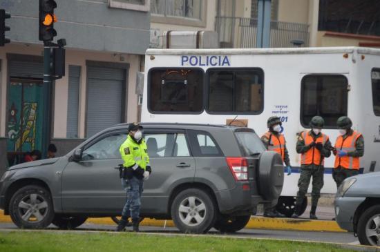 Quito registra 450 operativos de tránsito durante la emergencia sanitaria
