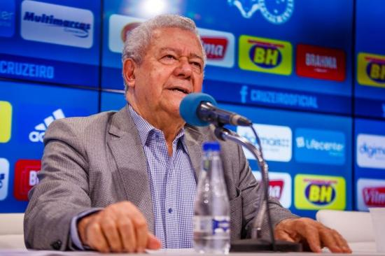 El presidente del Cruzeiro de Brasil está contagiado con coronavirus