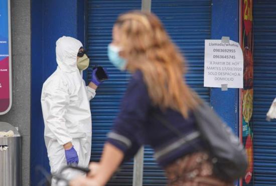Ecuador registra 2.302 casos positivos de coronavirus y 58 altas hospitalarias
