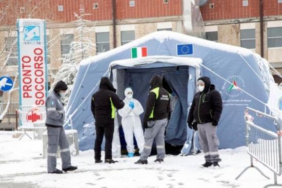 Contagios acabarán a mitad de mayo en Italia y se necesitará apertura gradual