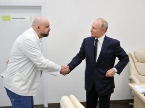 El director del hospital visitado por Putin da positivo por coronavirus