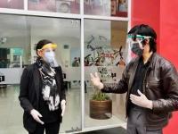 Fabrican mascarillas faciales con impresión 3D ante pandemia de coronavirus
