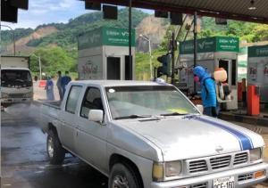 A diez personas se les negó el ingreso a Portoviejo por presentar temperatura elevada