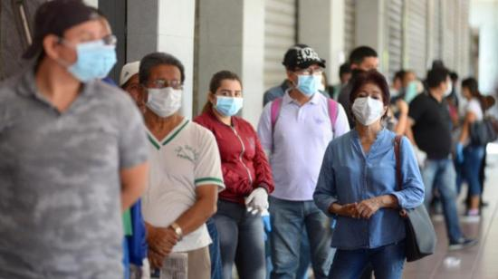 54 de cada 100 pruebas de Covid-19 salen positivas en la provincia del Guayas