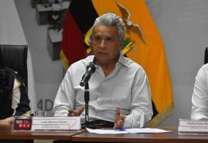 El presidente Lenín Moreno extiende la suspensión de la jornada laboral hasta el 12 de abril