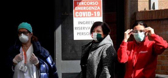 Casi 14.000 fallecidos en Italia y 115.000 casos de coronavirus