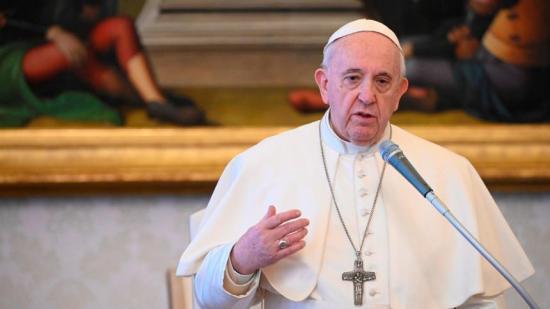 El papa ante la pandemia: 'Podemos preparar un tiempo mejor'
