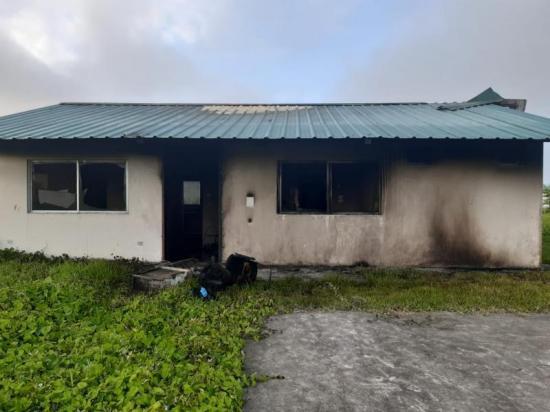 Identifican a las personas que habrían quemado casa en la Refinería