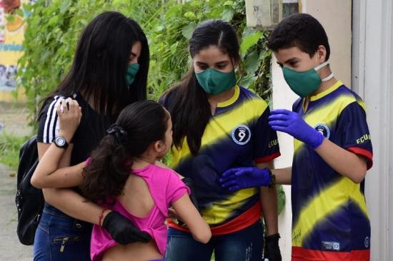 37 niños manabitas regresan a casa tras cumplir aislamiento