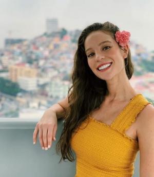 La exMiss Ecuador Alejandra Argudo anuncia que tiene coronavirus Covid-19