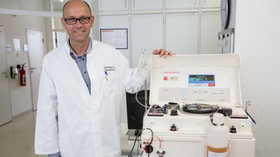 Hospital alemán tratará coronavirus con transfusiones de plasma
