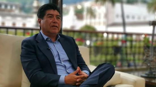 Jorge Yunda: 'Hay que cerrar los mercados y el transporte público'