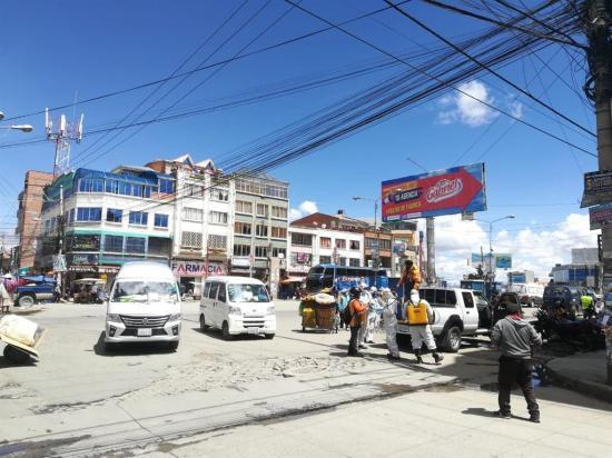 Detenido un alcalde de Bolivia por dar una fiesta patronal en plena pandemia de coronavirus