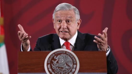 López Obrador ''toca madera'' para que la pandemia no empeore como en Guayaquil