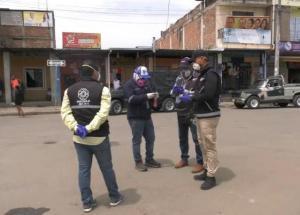 18 locales comerciales de Portoviejo fueron suspendidos por atender pese a restricción