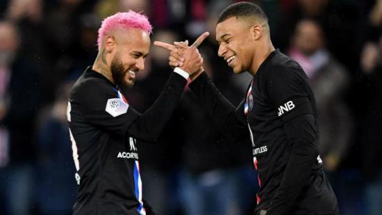 Neymar y Mbappé aceptan una reducción salarial del 50% por el coronavirus