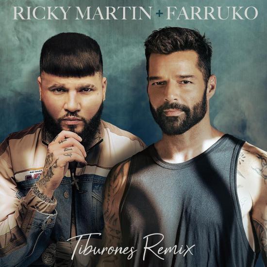 Ricky Martin lanzará a la medianoche remezcla de 'Tiburones' junto a Farruko
