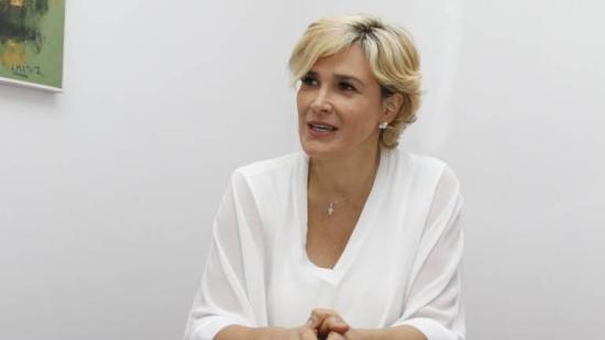 La alcaldesa de Guayaquil, Cynthia Viteri, anuncia que venció el coronavirus
