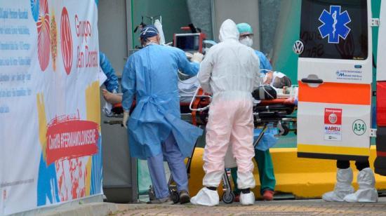 Italia recupera la tendencia a la baja con otros 570 muertos y cerca de 2.000 recuperados en un día