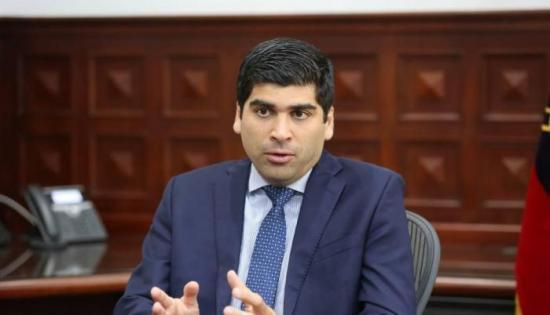 Vicepresidente de Ecuador cree que Guayaquil es 'una lamentable excepción' de lo que ocurre en el país