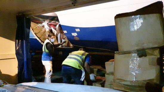 Vuelo con ayuda humanitaria internacional partió desde Panamá rumbo a Ecuador