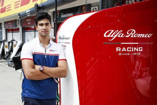 Juan Manuel Correa: ''Sigo con el objetivo de correr en la Fórmula 1 y con más ganas que antes''