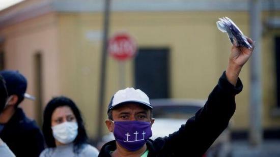 Guatemala suma casi 10.000 detenidos por violar toque de queda en la pandemia