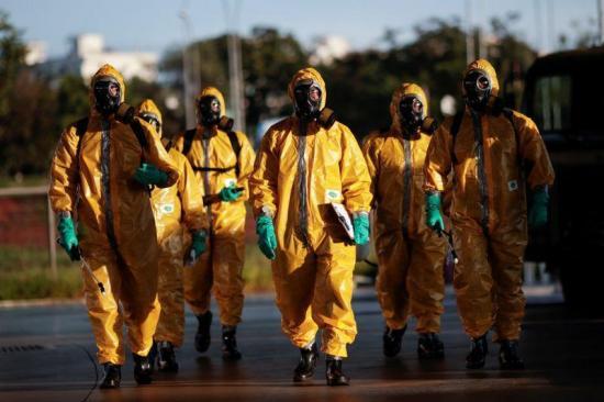Brasil supera las 1.200 muertes y los 22.000 casos de coronavirus