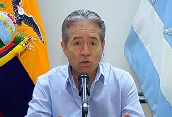 Ecuador suma 7.466 casos confirmados de Covid-19