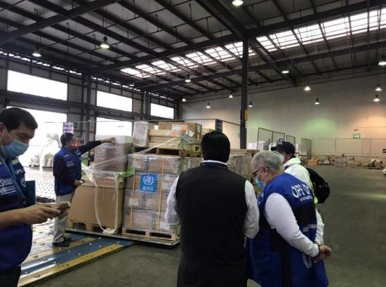 Ecuador recibe cooperación de docena de países y organismos internacionales