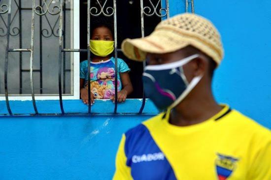 Ecuador suma 7.858  casos positivos de coronavirus y 388 fallecidos