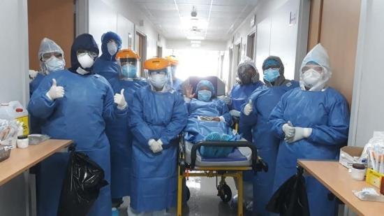 Hospital del IESS de Manta ha dado de alta a 17 pacientes con covid-19