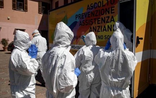 Italia registra un récord de más de 2.500 altas en un día y supera ya los 172.000 contagiados