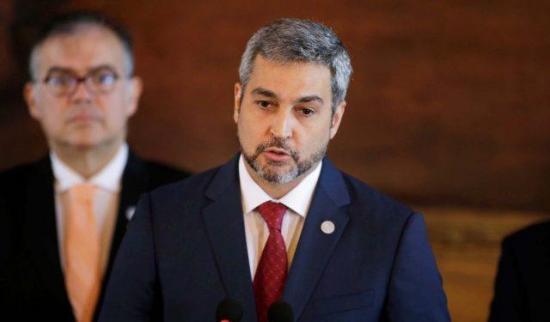 Presidente de Paraguay anuncia por Twitter una semana más de cuarentena