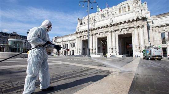 Italia iniciará la desescalada del confinamiento con 'gran cautela'