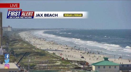 Florida reabre sus playas al público pese a tener cifras ascendentes de Covid-19