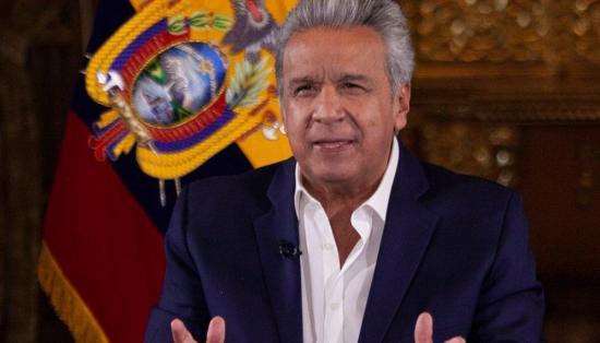 Lenín Moreno recibe un 24% de aprobación en gestión de crisis del Covid-19